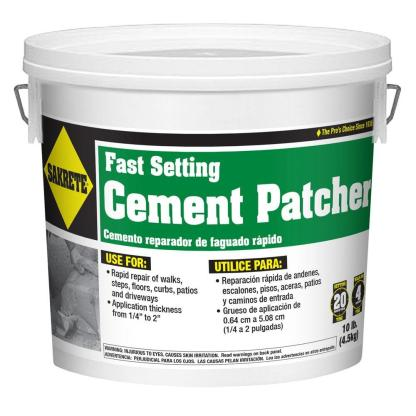 Cement patcher