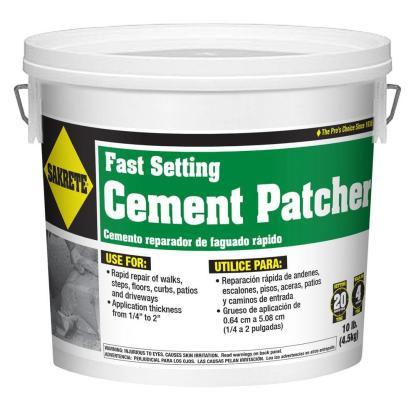 Cement patcher