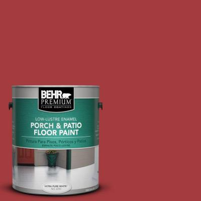 Porch and Patio Paint-red brick