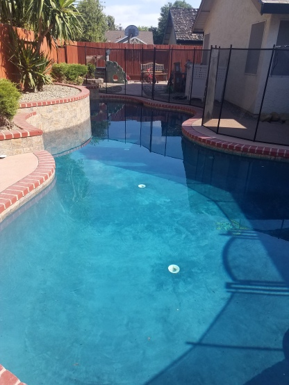 Pool done 9